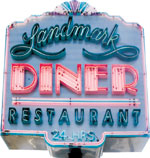 landmark diner, virginia avenue, atlanta landmark diner, 24 hour restaurant